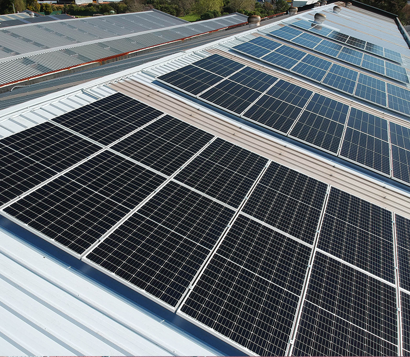 all steel services commercial solar