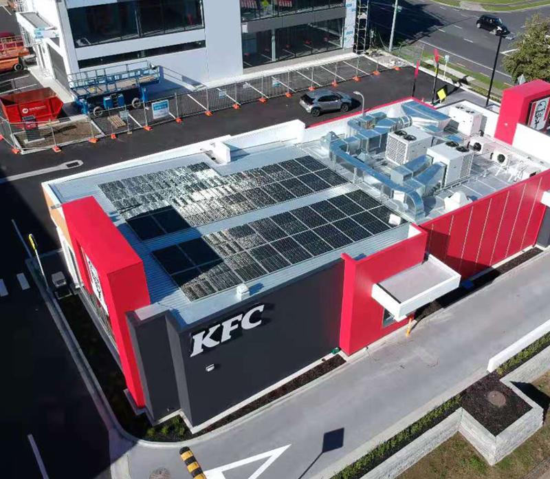 restaurant commercial solar
